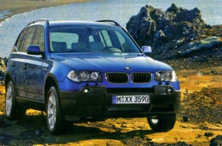 Супер Икс — BMW ХЗ в зеркале статистики TUV
