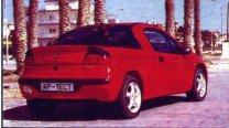 Opel Tigra как объект искусства