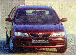 Nissan Maxima QX: «Лучше ездить, а не любоваться»