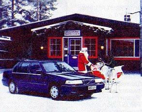 Volvo на родине Деда Мороза
