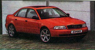 Audi А4 под гримом AlAvantgarde