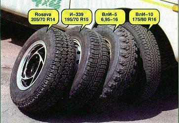 Какие шины поставить на Ниву?