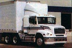 «Глазастый» Freightliner