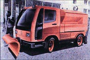 Unimog размером с Multicar