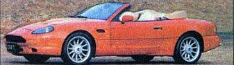 Aston Martin DB7 с кузовом кабриолет