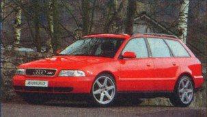 «Набор джентльмена» для Audi А4 Avant