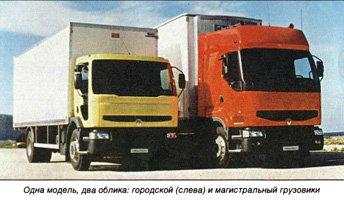 Знакомство с Renault Premium