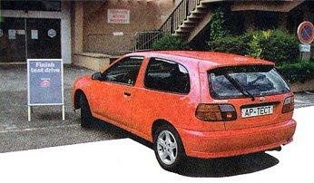 Almera GTi. Два литра под капотом