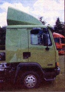 DAF45 со «спальной» кабиной