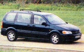Первый минивэн Opel