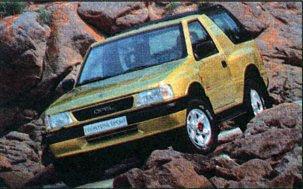 Opel Frontera:  бьется если во мне итальянское сердце
