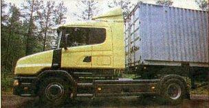 Вот — «носатая» Scania!