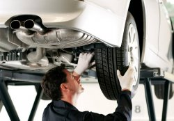 Обслуживание автомобиля на СТО