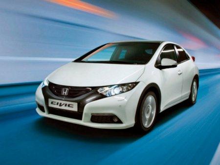 Honda представит в Париже обновленный Civic