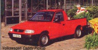 Volkswagen Caddy Pickup: сделано в Чехии