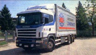 Scania:  кру-угом!