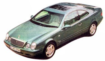 Mercedes CLK:  новое купе из Штутгарта!