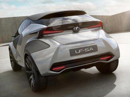 новый Lexus LF-SA