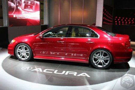 Обзор Acura RL