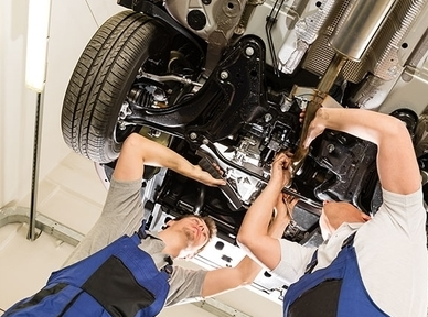 Диагностика и ремонт подвески автомобиля