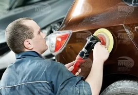 Как выполнить полировку авто