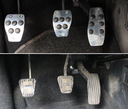 Какие функции выполняют накладки на педали автомобиля?