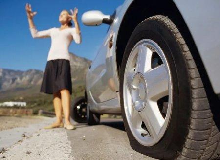Что делать, если в дороге спустило колесо